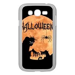 Halloween Samsung Galaxy Grand Duos I9082 Case (white) by Valentinaart
