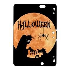 Halloween Kindle Fire Hdx 8 9  Hardshell Case by Valentinaart