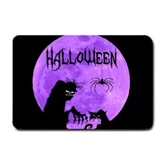 Halloween Small Doormat  by Valentinaart
