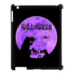 Halloween Apple Ipad 3/4 Case (black) by Valentinaart