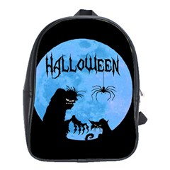 Halloween School Bag (large) by Valentinaart