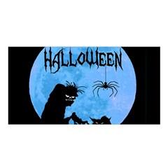 Halloween Satin Shawl by Valentinaart