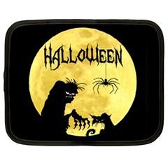 Halloween Netbook Case (xxl)  by Valentinaart