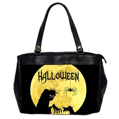 Halloween Office Handbags (2 Sides)  by Valentinaart
