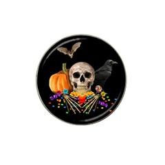 Halloween Candy Keeper Hat Clip Ball Marker by Valentinaart