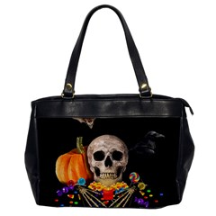 Halloween Candy Keeper Office Handbags by Valentinaart