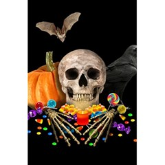 Halloween Candy Keeper 5 5  X 8 5  Notebooks by Valentinaart