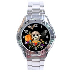 Halloween Candy Keeper Stainless Steel Analogue Watch by Valentinaart