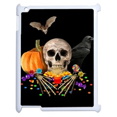 Halloween Candy Keeper Apple Ipad 2 Case (white) by Valentinaart
