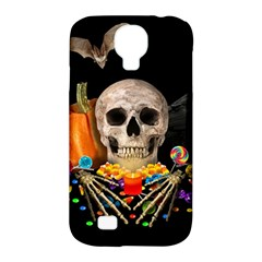 Halloween Candy Keeper Samsung Galaxy S4 Classic Hardshell Case (pc+silicone) by Valentinaart