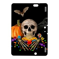 Halloween Candy Keeper Kindle Fire Hdx 8 9  Hardshell Case by Valentinaart