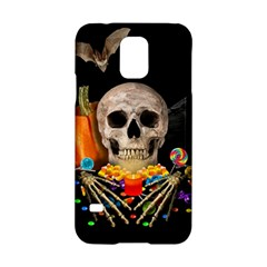 Halloween Candy Keeper Samsung Galaxy S5 Hardshell Case  by Valentinaart