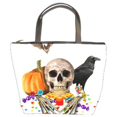 Halloween Candy Keeper Bucket Bags by Valentinaart