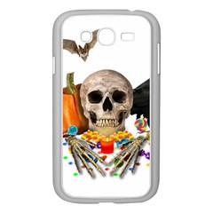 Halloween Candy Keeper Samsung Galaxy Grand Duos I9082 Case (white) by Valentinaart