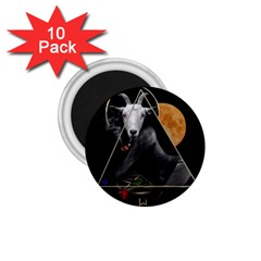 Spiritual Goat 1 75  Magnets (10 Pack)  by Valentinaart