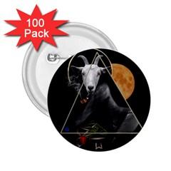 Spiritual Goat 2 25  Buttons (100 Pack)  by Valentinaart