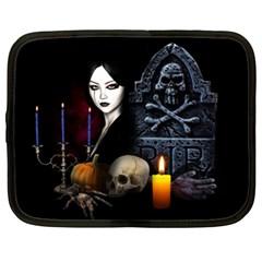 Vampires Night  Netbook Case (xxl)  by Valentinaart