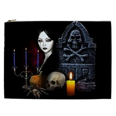 Vampires Night  Cosmetic Bag (xxl)  by Valentinaart