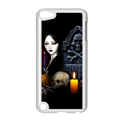 Vampires Night  Apple Ipod Touch 5 Case (white) by Valentinaart