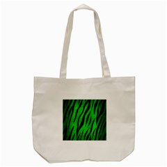 Skin3 Black Marble & Green Brushed Metal (r) Tote Bag (cream)