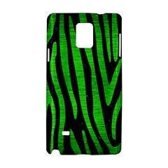 Skin4 Black Marble & Green Brushed Metal (r) Samsung Galaxy Note 4 Hardshell Case by trendistuff