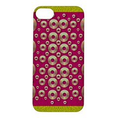 Going Gold Or Metal On Fern Pop Art Apple Iphone 5s/ Se Hardshell Case by pepitasart