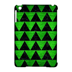 Triangle2 Black Marble & Green Brushed Metal Apple Ipad Mini Hardshell Case (compatible With Smart Cover) by trendistuff