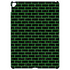 Brick1 Black Marble & Green Colored Pencil Apple Ipad Pro 12 9   Hardshell Case by trendistuff