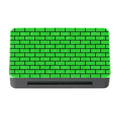 Brick1 Black Marble & Green Colored Pencil (r) Memory Card Reader With Cf by trendistuff