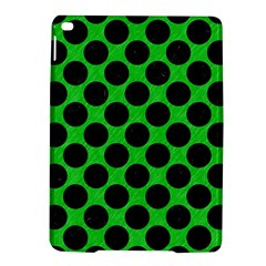 Circles2 Black Marble & Green Colored Pencil (r) Ipad Air 2 Hardshell Cases by trendistuff