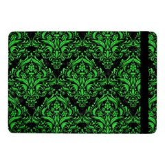 Damask1 Black Marble & Green Colored Pencil Samsung Galaxy Tab Pro 10 1  Flip Case by trendistuff
