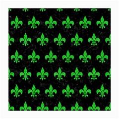Royal1 Black Marble & Green Colored Pencil (r) Medium Glasses Cloth (2 Side) by trendistuff
