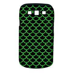 Scales1 Black Marble & Green Colored Pencil Samsung Galaxy S Iii Classic Hardshell Case (pc+silicone) by trendistuff