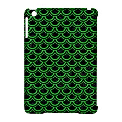 Scales2 Black Marble & Green Colored Pencil Apple Ipad Mini Hardshell Case (compatible With Smart Cover) by trendistuff
