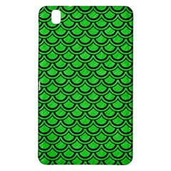 Scales2 Black Marble & Green Colored Pencil (r) Samsung Galaxy Tab Pro 8 4 Hardshell Case by trendistuff