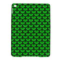 Scales3 Black Marble & Green Colored Pencil (r) Ipad Air 2 Hardshell Cases by trendistuff