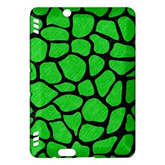 Skin1 Black Marble & Green Colored Pencil Kindle Fire Hdx Hardshell Case by trendistuff