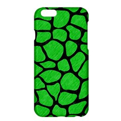 Skin1 Black Marble & Green Colored Pencil Apple Iphone 6 Plus/6s Plus Hardshell Case by trendistuff