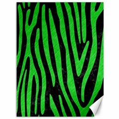Skin4 Black Marble & Green Colored Pencil (r) Canvas 36  X 48   by trendistuff