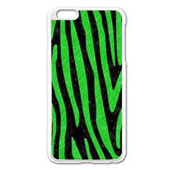 Skin4 Black Marble & Green Colored Pencil (r) Apple Iphone 6 Plus/6s Plus Enamel White Case by trendistuff