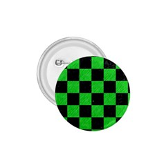 Square1 Black Marble & Green Colored Pencil 1 75  Buttons by trendistuff