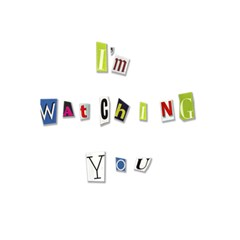 I Am Watching You 5 5  X 8 5  Notebooks by Valentinaart