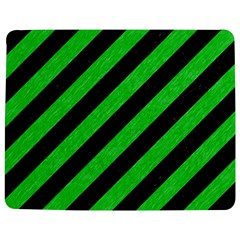 Stripes3 Black Marble & Green Colored Pencil Jigsaw Puzzle Photo Stand (rectangular) by trendistuff