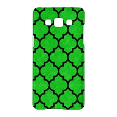 Tile1 Black Marble & Green Colored Pencil (r) Samsung Galaxy A5 Hardshell Case  by trendistuff