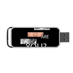 Who Are You Portable Usb Flash (two Sides) by Valentinaart