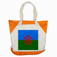 Gypsy Flag Accent Tote Bag by Valentinaart