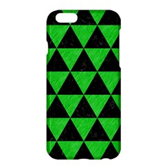 Triangle3 Black Marble & Green Colored Pencil Apple Iphone 6 Plus/6s Plus Hardshell Case by trendistuff