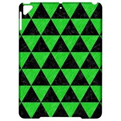 Triangle3 Black Marble & Green Colored Pencil Apple Ipad Pro 9 7   Hardshell Case by trendistuff