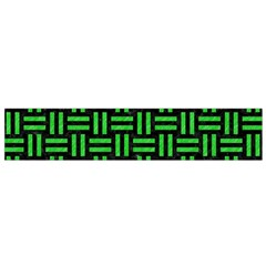Woven1 Black Marble & Green Colored Pencil Flano Scarf (small) by trendistuff