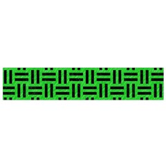 Woven1 Black Marble & Green Colored Pencil (r) Flano Scarf (small) by trendistuff
